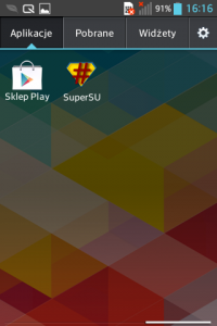 SuperSU w LG L5