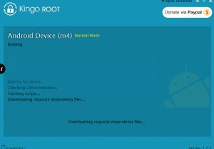 Kingo - ROOTowanie telefonu LG L5